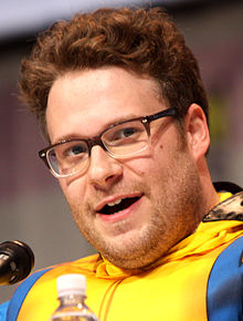 Seth Rogen (This is the End, Pinapple Express, Superbad, Knocked Up, Neighbors, The Green Hornet, Monsters vs. Aliens, Zack and Miri Make a Porno, Step Brothers, Pineapple Express, Superbad, Knocked Up, The 40-Year-Old Virgin, Anchorman, Undeclared, Freeks and Geeks) - IMDB Page